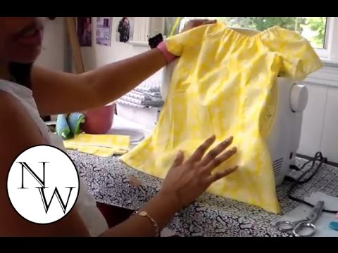 DIY: Peasant Top/Dress |Tutorial! - YouTube
