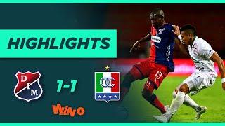 Medellín vs Once Caldas (Goles y Highlights) Liga BetPlay Dimayor 2020   Fecha 17