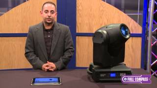 Martin Professional Rush MH1 Profile Moving Head Lighting Fixture Overview | Full Compass