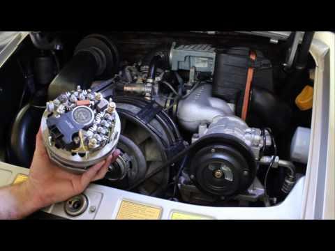 Porsche 911 Alternator Replacement – DIY