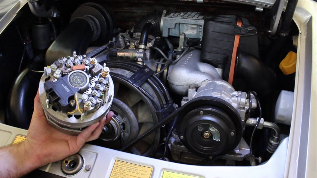 porsche 911 alternator replacement diy youtube rh youtube com