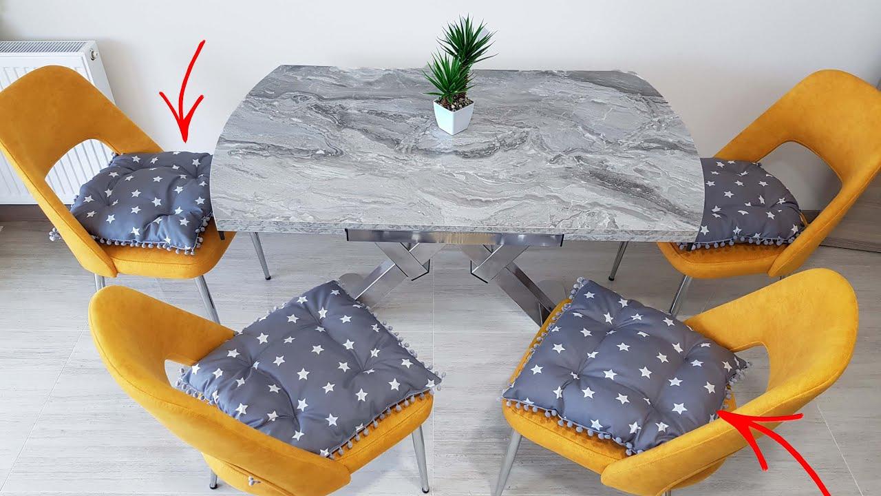 Yeni Tasarım - Çok Hoş - Minder yapımı - Puff Pillow Making - Recycling DIY