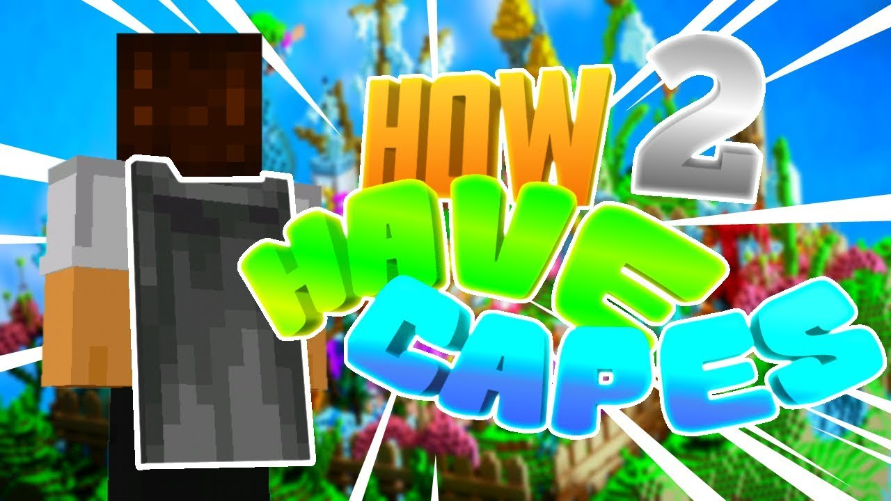 How To Get Capes in Minecraft! - YouTube
