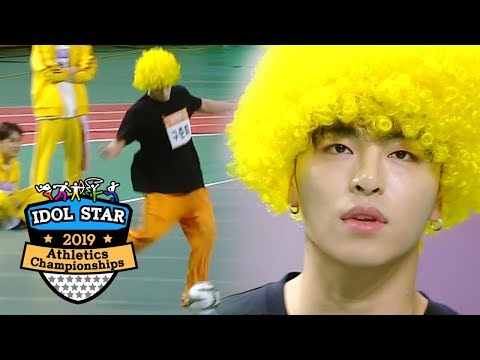 Jun Hoe is Copying David Luiz?! [2019 Idol Star Athletics Championships]