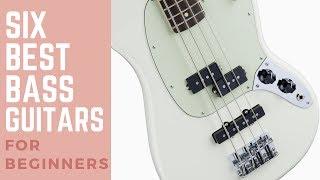 6 Best Bass Guitars for Beginners 2017