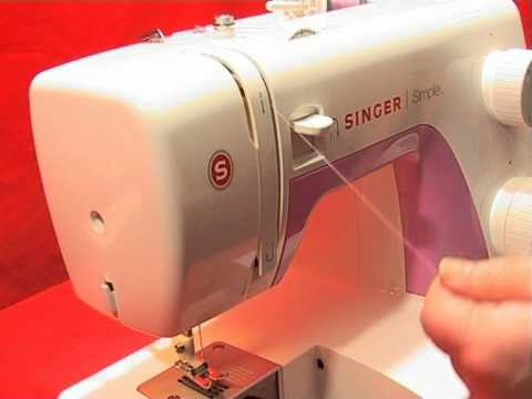 Singer Simple Threading YouTube Classy How To Thread Bobbin On Singer Simple Sewing Machine