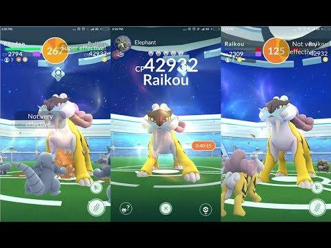 how to find raikou pokemon go