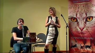 """Erin Hunter liest aus """"Warrior Cats: Sonnenaufgang"""" - Lesung von LovelyBooks.de - Archivierung"""
