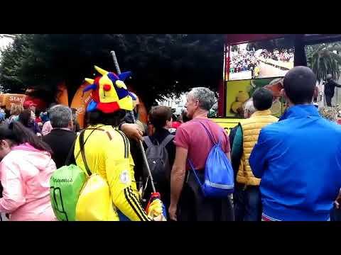 Expectación en Mondoñedo ante la salida de la etapa de La Vuelta