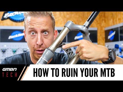 7 Ways You're Destroying Your Mountain Bike | MTB Maintenance Tips
