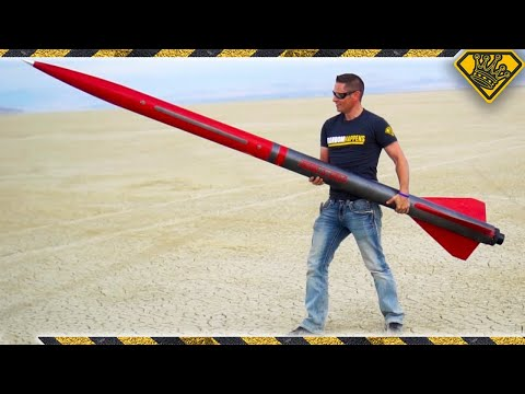 Thumbnail: Taping a Smartphone To A 10 Ft Rocket (#ad)