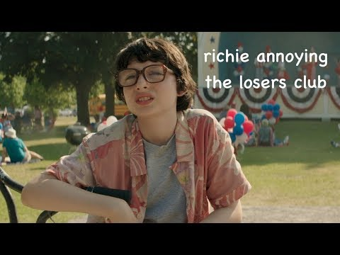 richie tozier annoying the losers club
