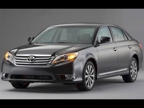 2012 Toyota Avalon Start Up and Review 3.5 L V-6