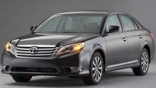 2012 Toyota Avalon Start Up and Review 3.5 L V-6