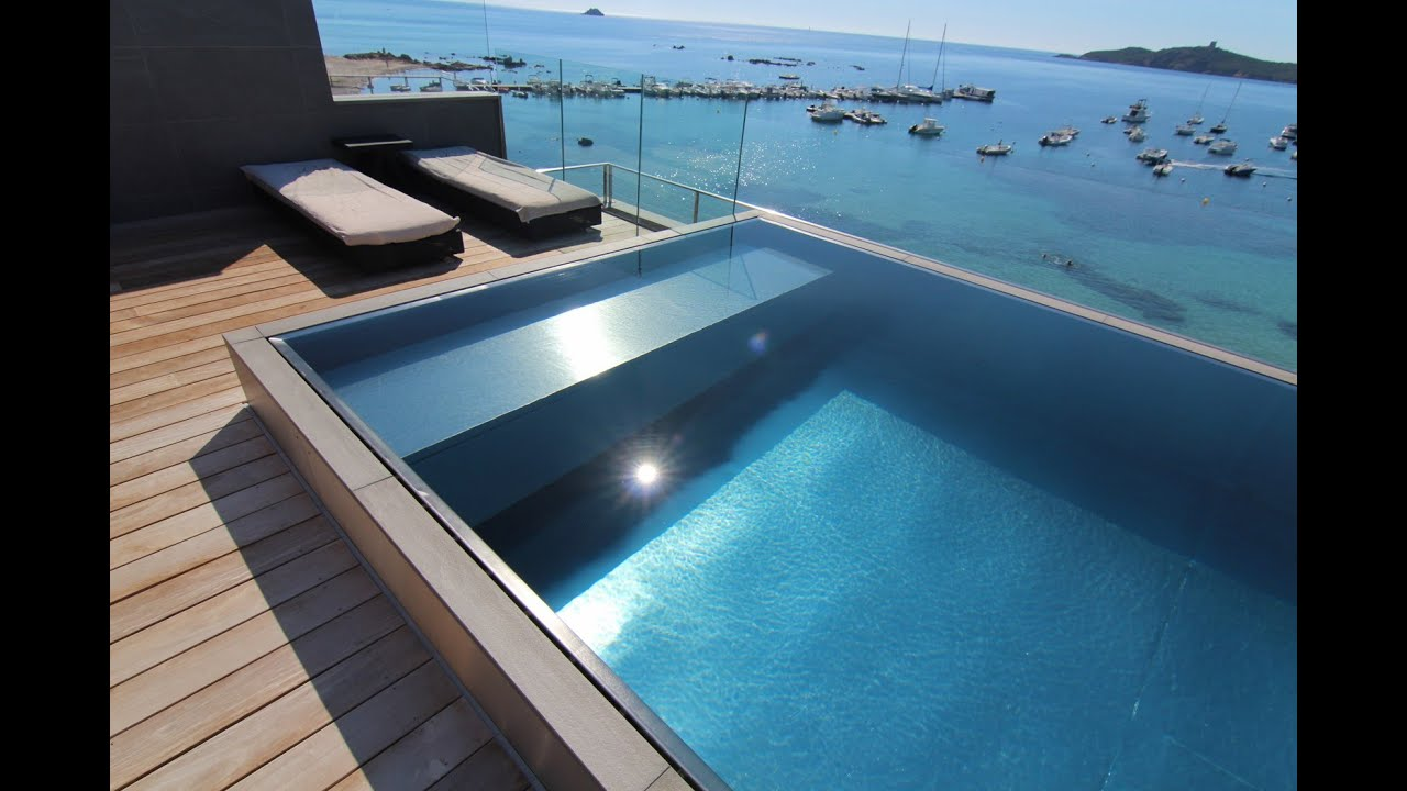 Luxe Pools - Stainless Steel Pool - Distributed by Paramount Pools Ltd