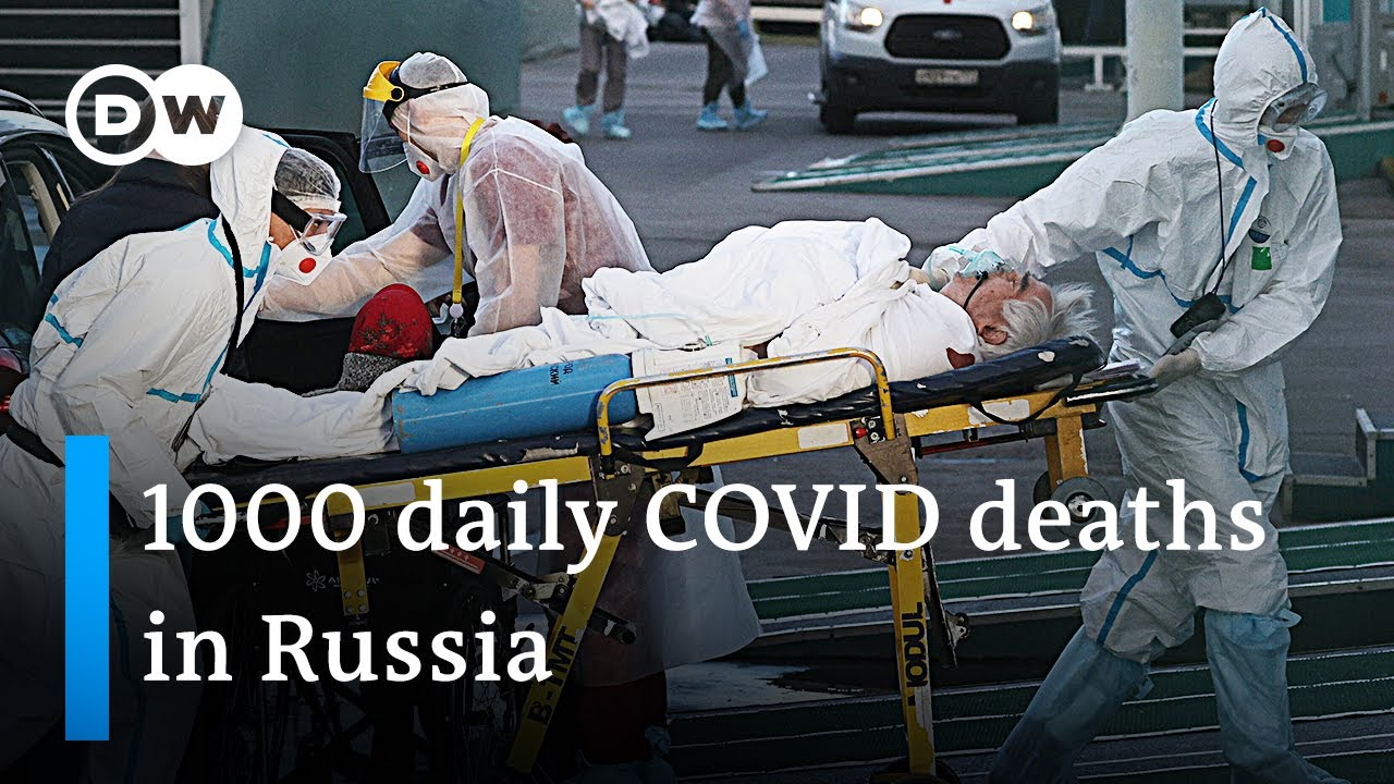 Download Moscow enters lockdown as the country is at risk to lead in global COVID infections | DW News