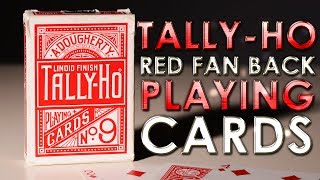 Deck Review - Tally-Ho Red Fan Back Linoid Finish Playing Cards