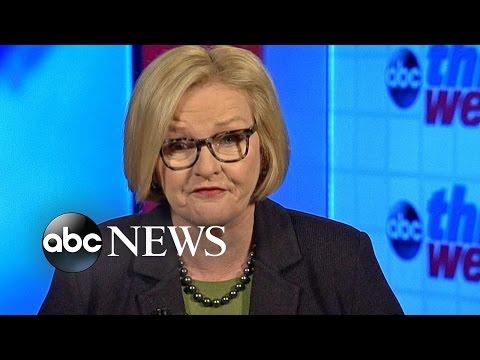 Sen. Claire McCaskill: Trump's Cabinet Has 'Goldman, Generals, and Gazillionaires'
