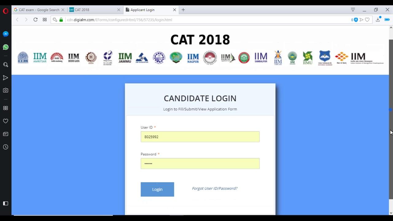 CAT Admit Card 2019 - Download CAT 2019 Hall Ticket @iimcat ac in