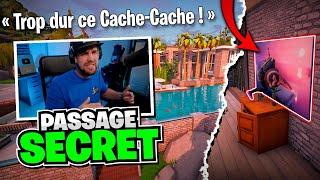 Cache-cache spécial passage secret sur Fortnite Créatif !