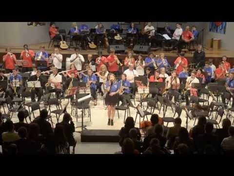 Orquesta HARINGEY YOUNG MUSICIANS en concierto 2015. Part 4