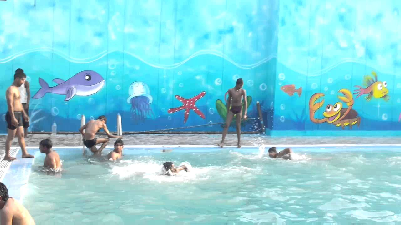 Baqueris swimming pool hyderabad youtube for Swimming pool poker