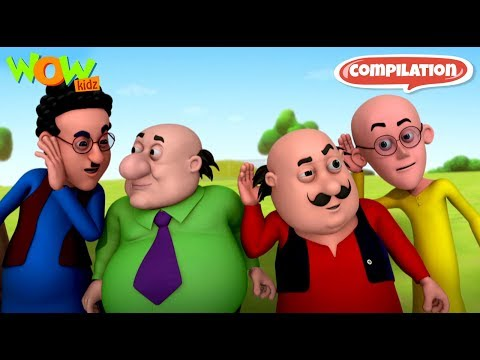 Motu Patlu - 6 episodes in 1 hour | 3D Animation for kids | #82 thumbnail