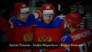 Artemi Panarin - Vadim Shipachyov - Evgeni Dadonov / 2016 World Championship Highlights