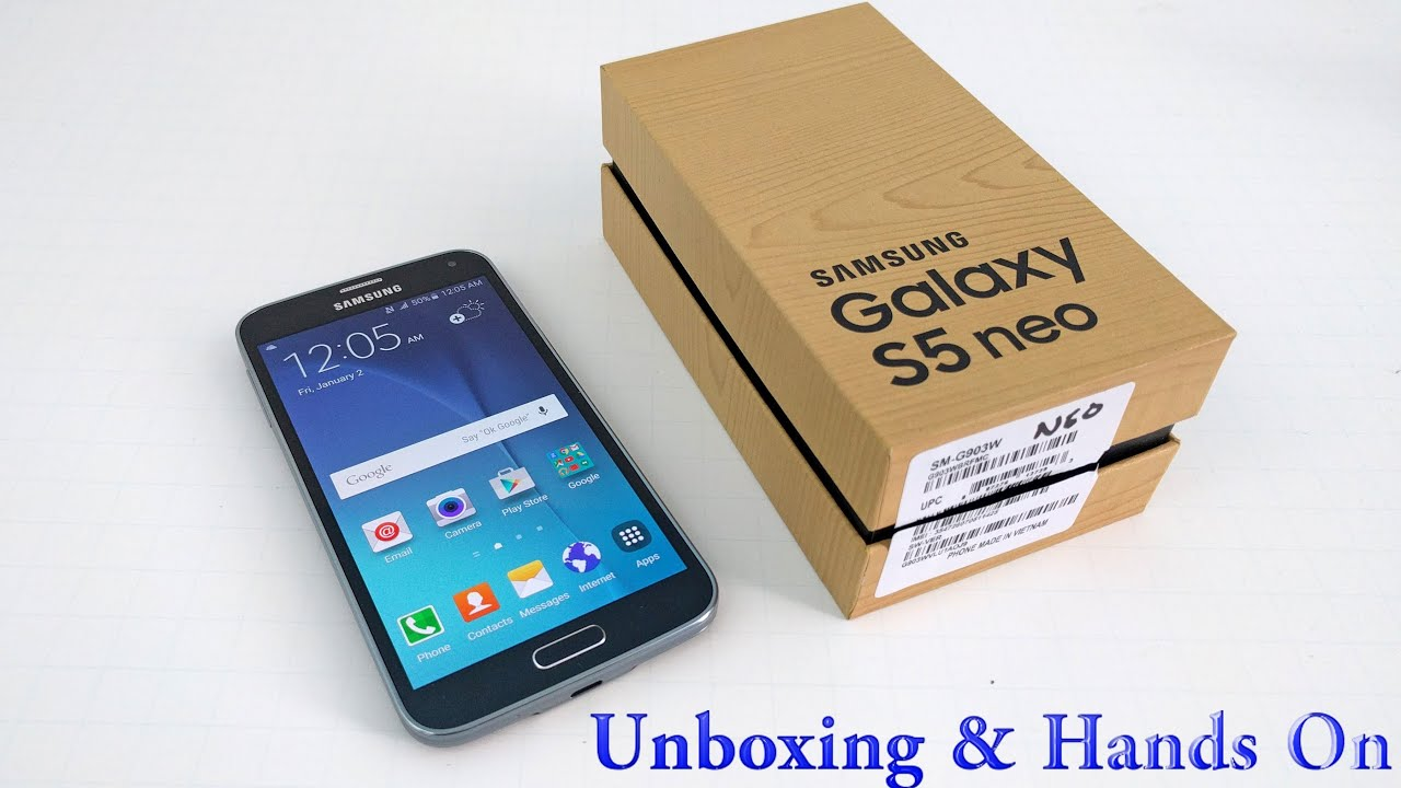 samsung galaxy s5 neo unboxing hands on youtube. Black Bedroom Furniture Sets. Home Design Ideas