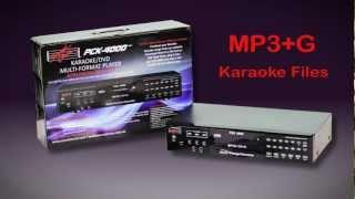 The Sound Choice PCK-4000 Karaoke Player