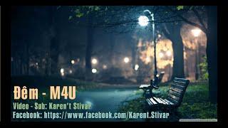 Ðêm - M4U - [ Lyric Video ]