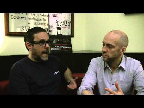 Derren Brown and Andy Nyman discuss their new  Infamous