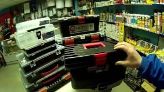 Обзор. Ящики для инструментов и органайзеры.