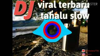 Gambar cover DJ viral terbaru 2019 - tahalu slow remix