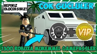 1300 ROBUXA BOUGHT EXCELLENT ITEMS / Roblox Mad City / Roblox English / FarukTPC
