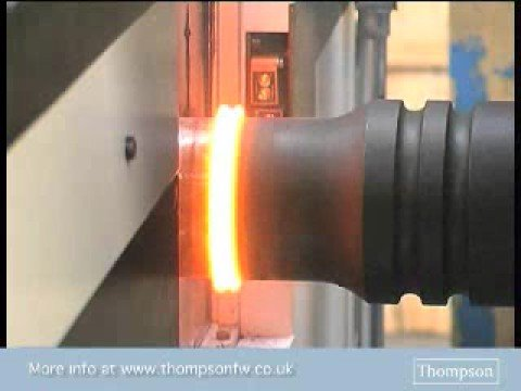 Friction welding API drill pipe for oil exploration