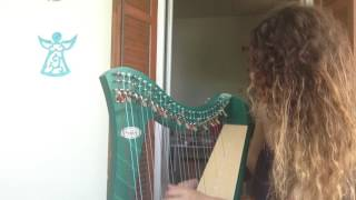 Coldplay- Paradise harp cover by Deniz Aker