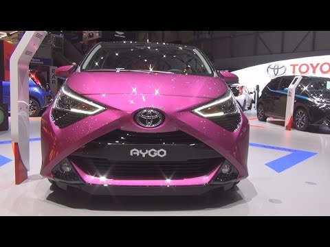 Toyota Aygo X-cite 1.0 VVT-i S&S 5MT (2018) Exterior and Interior