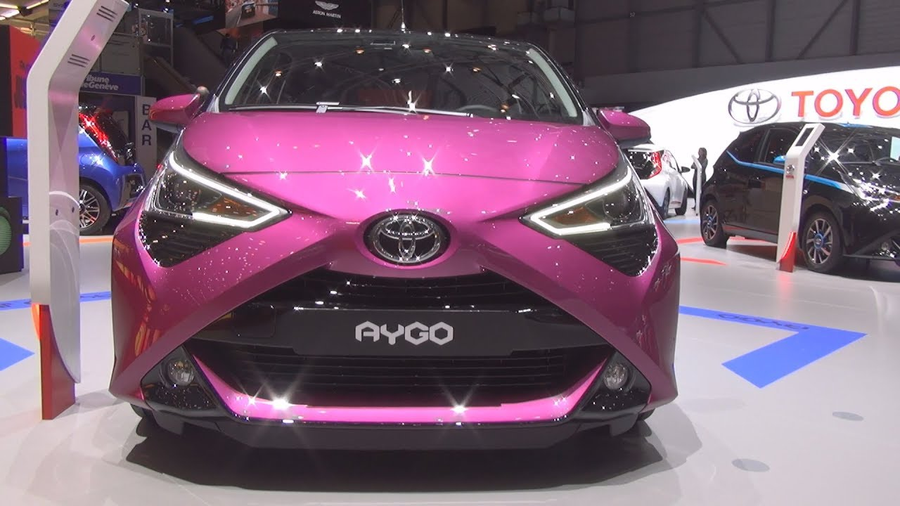 Toyota Aygo X-cite 1.0 VVT-i S&S 5MT (2018) Exterior and ...
