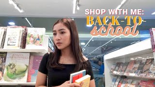 Shop with Me: Back-To-School Shopping + Haul