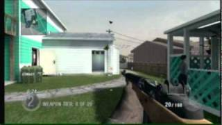 Gun Game - Call Of Duty Black Ops Wii Gameplay - Nuketown