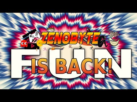 HAVE SOME FUCKING FUN FOR FUCK SAKE! Zenobyte is back!
