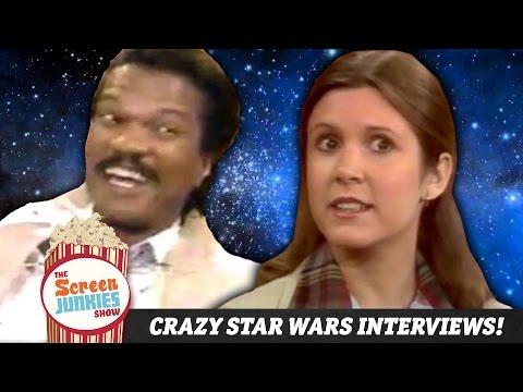 The Craziest Star Wars Interviews You've Never Seen! (Until Now!)