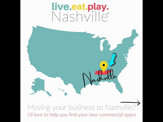 Moving Your Business to Nashville?
