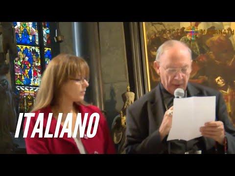Cattedrale di Santo Stefano, Vienna, 29 settembre 2015 -  Mgr Leonard &  Sabrina Covic