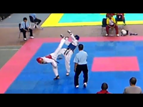 Bogor VS Sumbar Kejurnas PPLP  Taekwondo Indonesia 2015