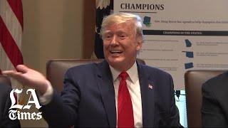 Cabinet meeting devolves into 71 minutes of Trump grievances