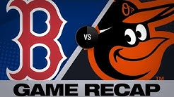 Red Sox's offense erupts late in 8-6 win | Red Sox-Orioles Game Highlights 6/16/19