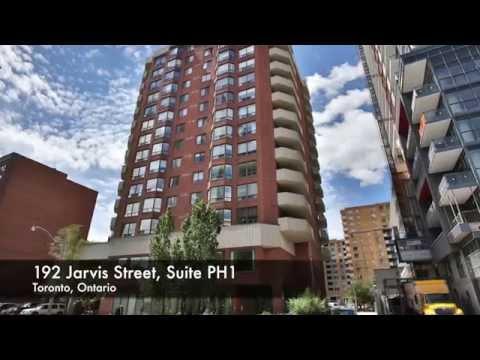 NEW PRICE!! 192 Jarvis Street Suite PH1 $454,900