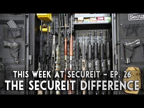 SecureIt Gun Storage - This Isn't Your Grandfather's Gun Safe